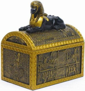 Ancient Egyptian Jewelry Boxes