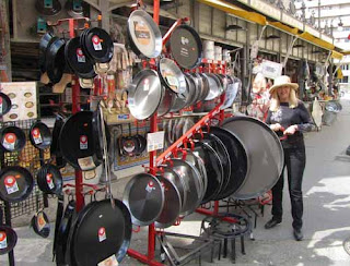 Pat with Paella Pans - Valencia, Spain