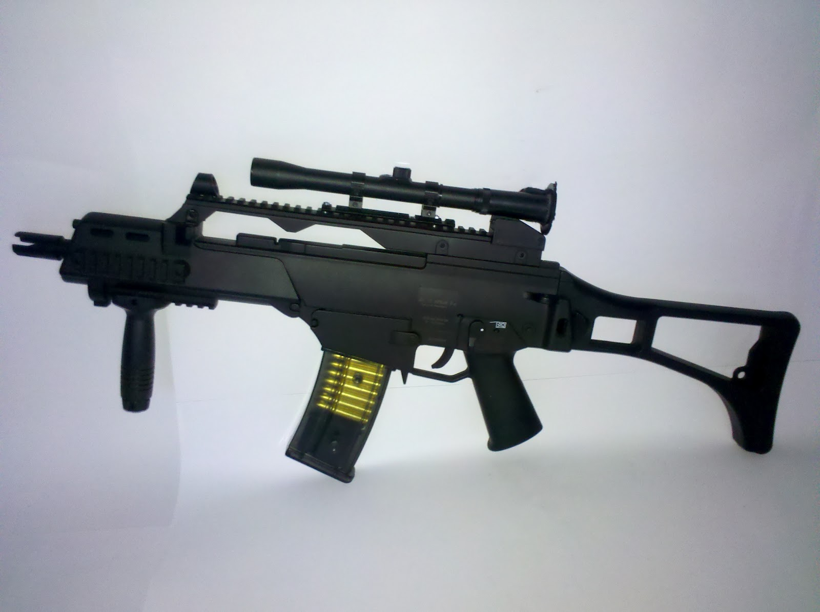 Do It Yourself Gadgets G36 Coilgun Model Movie Prop How To Build Magnetic Gun September 14 2012