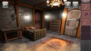Screenshots of the Psycho escape for Android tablet, phone.