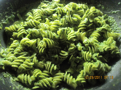 spinach Pasta is with spinach and pasta