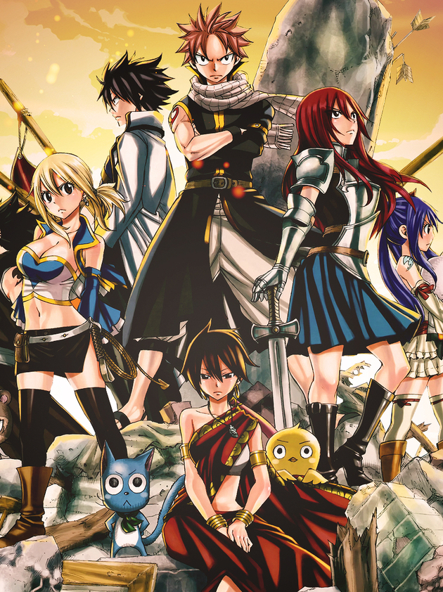 Fairy Tail Mobile Wallpaper