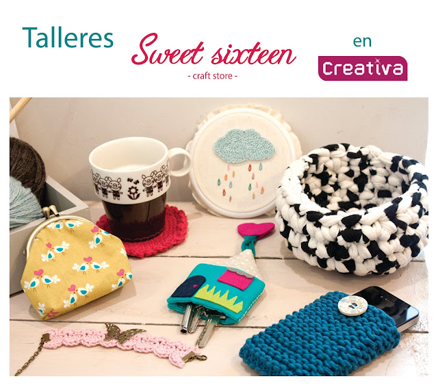 Talleres Sweet sixteen en creativa madrid 2013