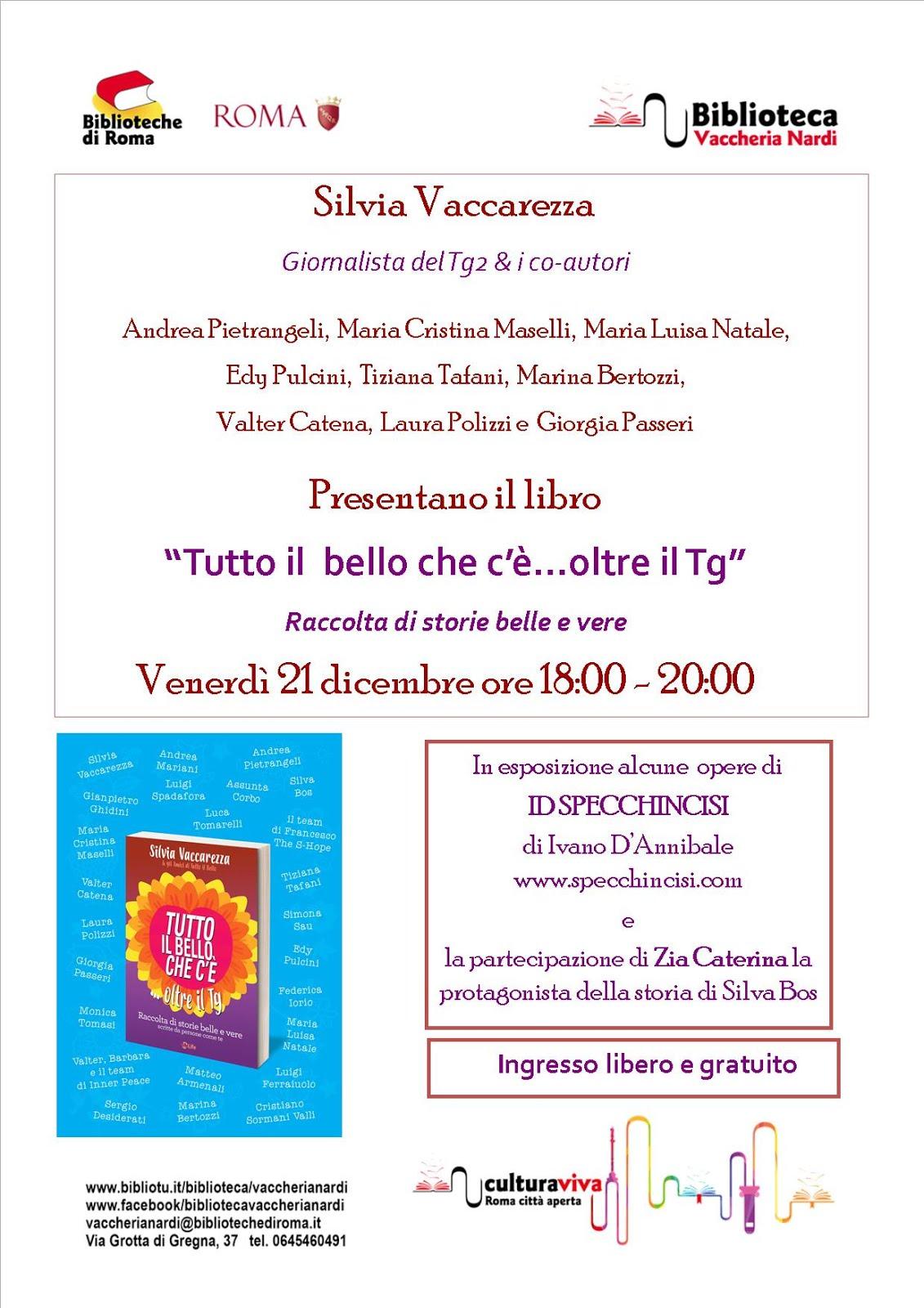 Presentazione libro - Silva Bos autrice storia di Zia Caterina