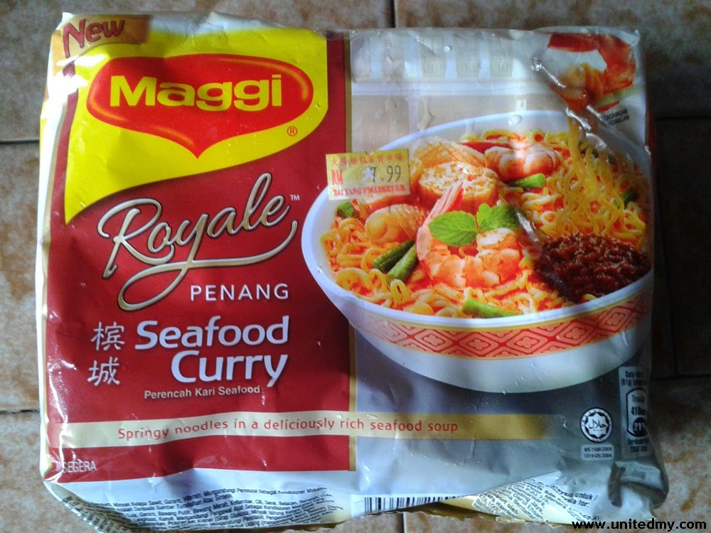 Maggi Royale Penang Seafood Curry Malaysia