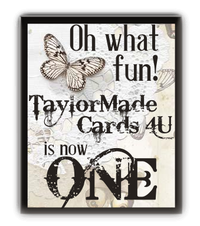 Blogiversary at Taylormade Cards 4you