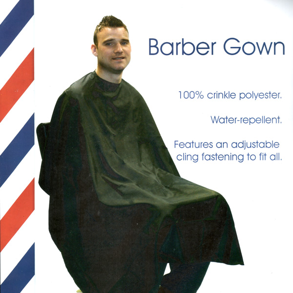 Barber Girl Photos: Barber Gown