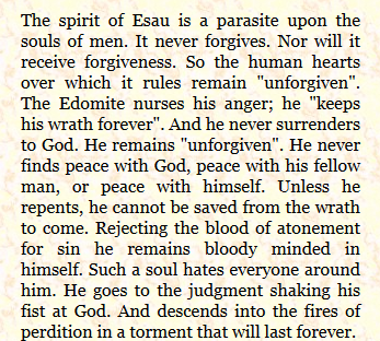 Spirit of Esau