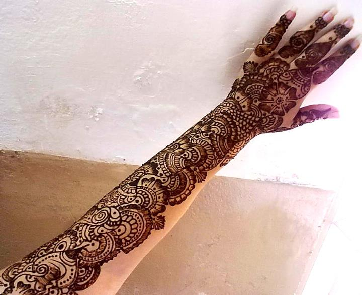 Bridal Mehndi Designs Pakistani Fancy Mehndi Design For