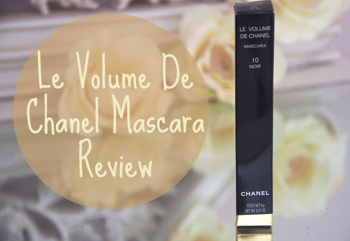 Chanel Le Volume Mascara Review Noir Black