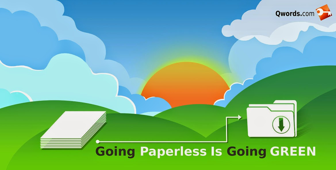 Let's Paperless, Move Website