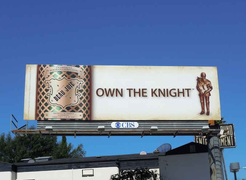 Beau Joie Own the knight billboard