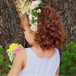 Peinado Niña de la Flores, Cabello Corto