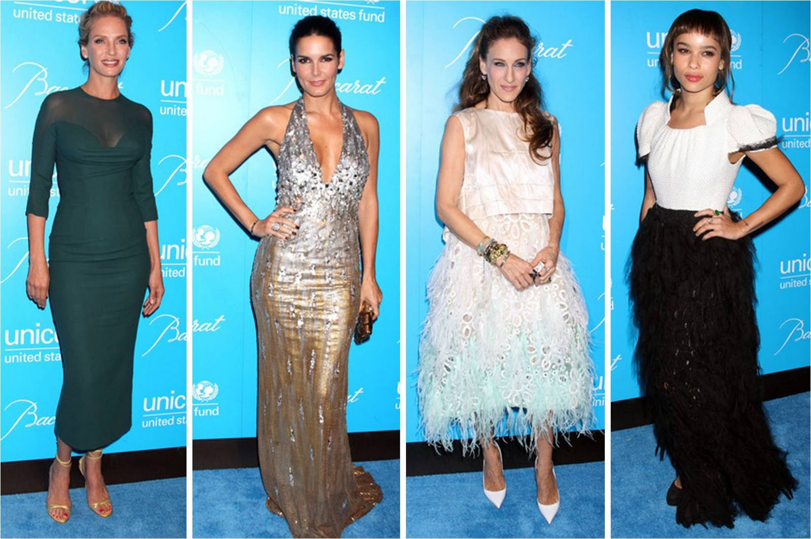 http://1.bp.blogspot.com/-E0t--iKAeq4/TthpibADF1I/AAAAAAAAIEY/7ZOEy7cENf4/s1600/UNICEF+Snowflake+Ball+Best+Dressed+Uma+Thurman+Angie+Harman+Sarah+Jessica+Parker+Zoe+Kravitz.jpg