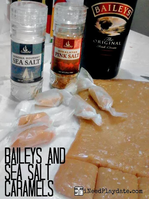 Baileys Sea Salted Caramels
