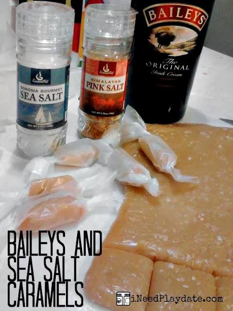 Baileys Sea Salted Caramels