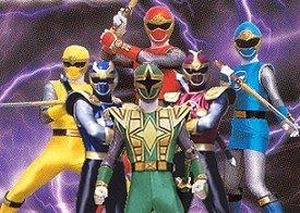 Power Rangers Tempestade Ninja
