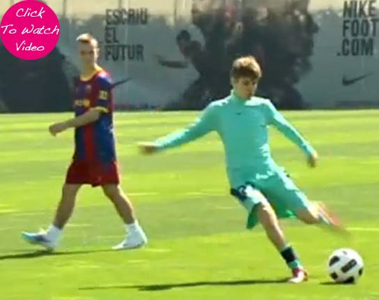justin bieber soccer. Justin Bieber Joined The Fc