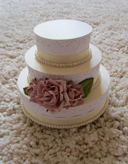 торт-коробочка для денег