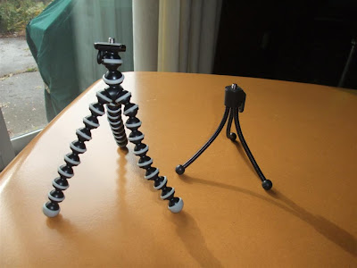 mini tripod review, joby gorillapod, flexible