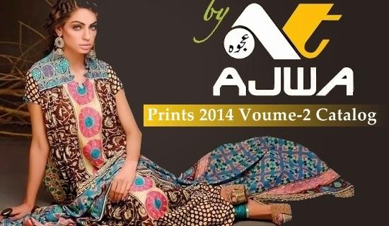 Ajwa Lawn Prints