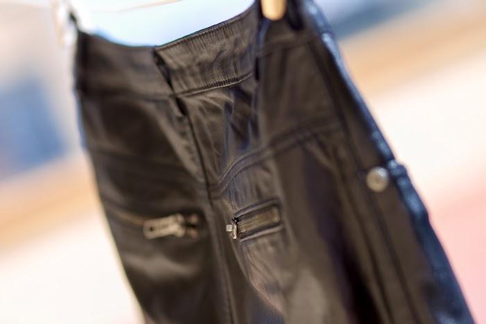 Pantalón de cuero Kirin Muubaa