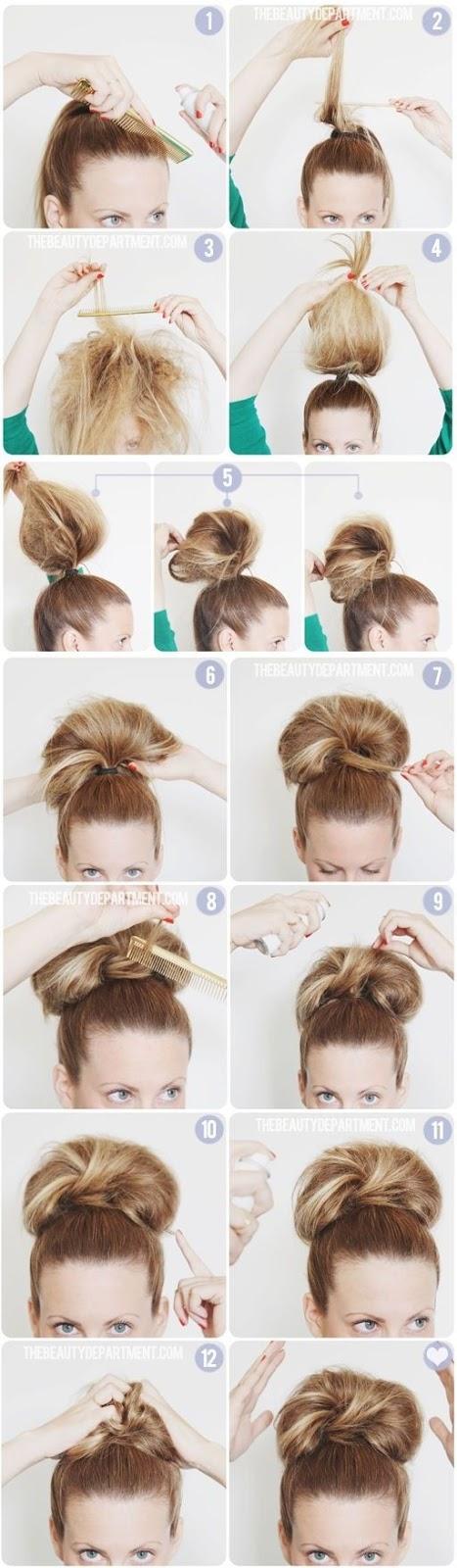 6 recogidos fáciles paso a paso - peinados fáciles