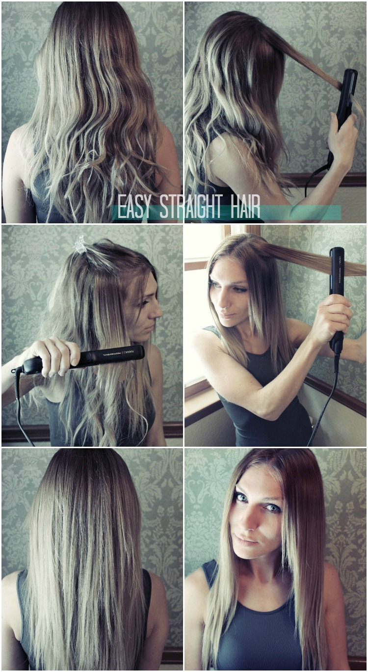 Easy pretty hairstyles for straight
