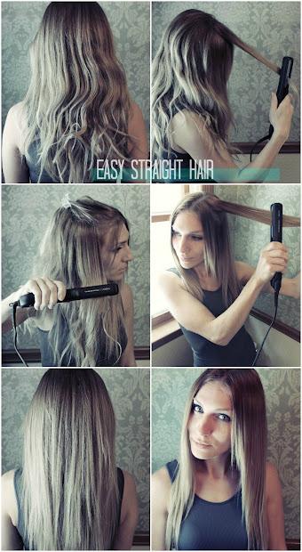 lauren rebecca easy straight hair