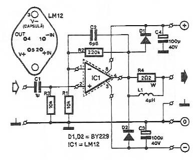 simple distortion schematic simple illustration wiring