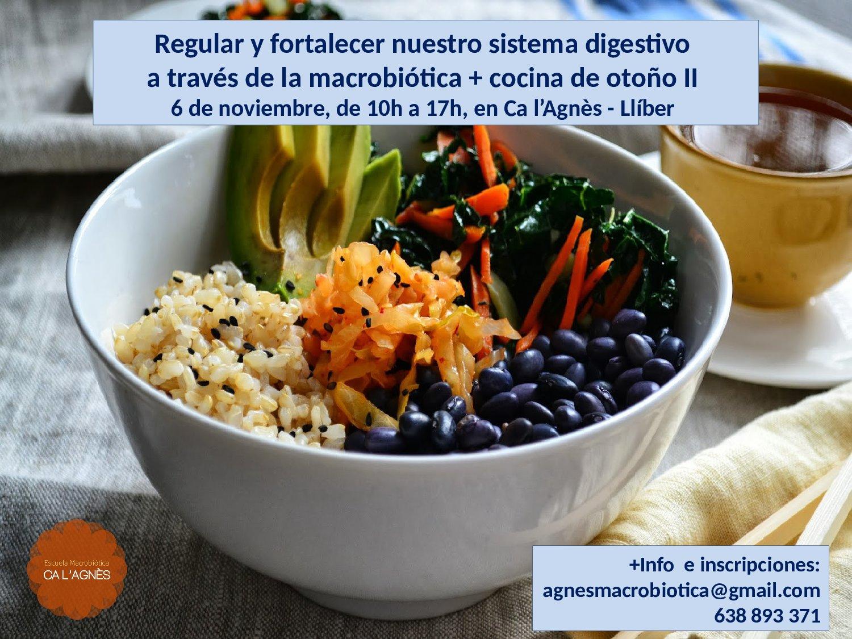Regular y fortalecer nuestro sistema digestivo a través de la macrobiótica