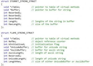 StuxnetとFlameのストリングタイプ構造:ESETセキュリティブログ