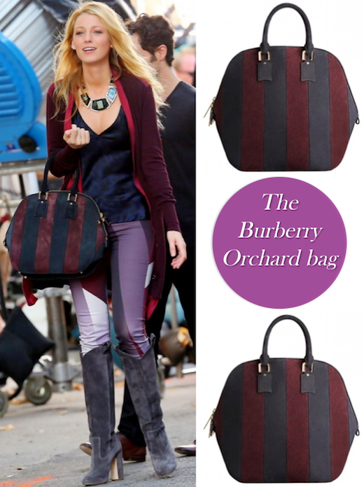 bb76784833b3 Blake Lively Carries the Burberry Orchard Bag - Coco s Tea Party