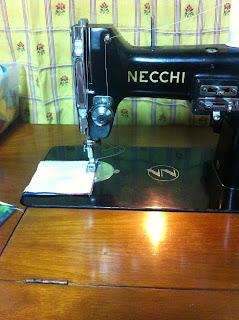 Working on Necchi BU Sewing Machine