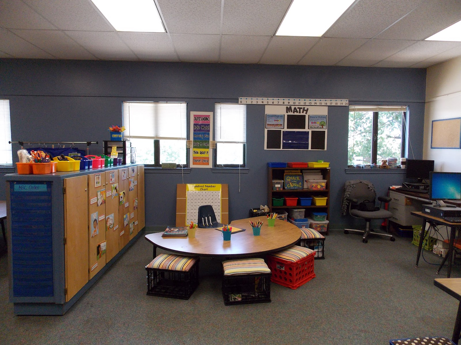 Classroom Setup Ideas For First Grade ~ A day in first grade back to school operation set up