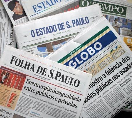 Manchetes dos Jornalões