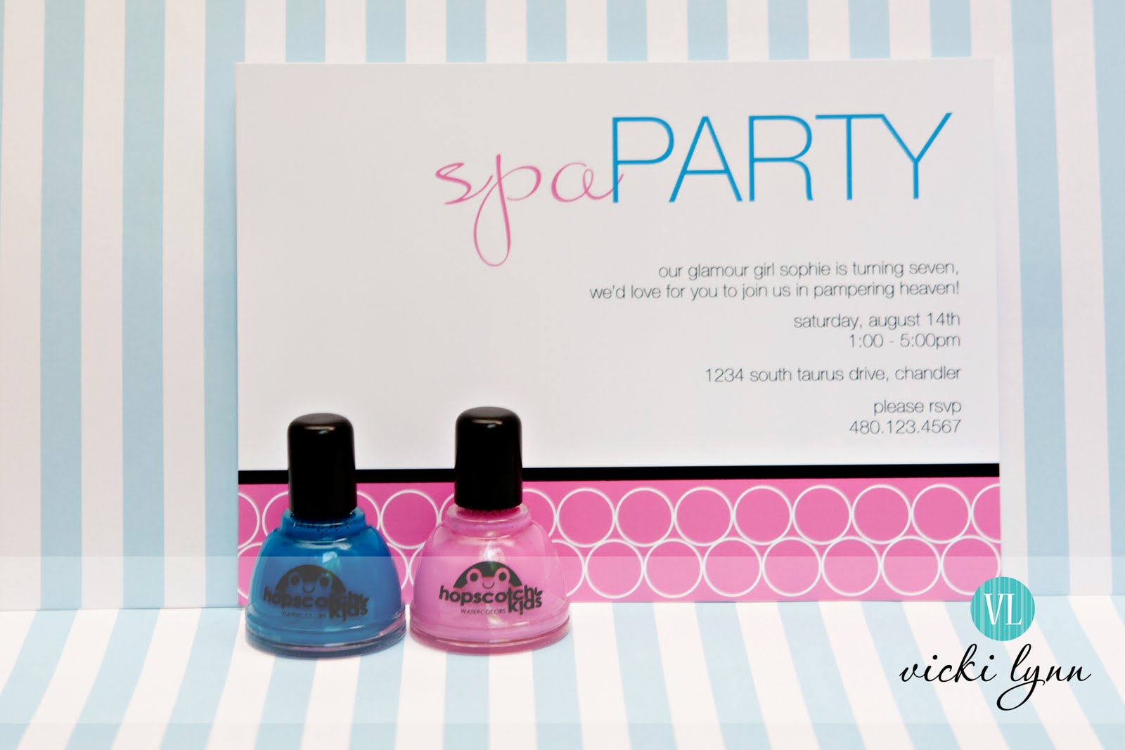 Birthday sale the tomkat studio blog -  Real Parties Sophie S Fabulous Spa Birthday Party