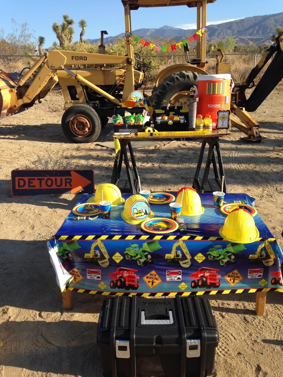 Tonka construction party ideas! - LAURA'S little PARTY
