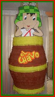 Piñatas Chavo del Ocho