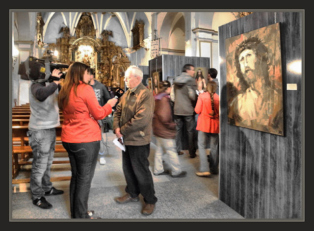 CONCURSO-PINTURA-ECCE HOMO-PREMIOS-PINTOR-ERNEST DESCALS-ANTENA3-TELEVISION-NOTICIAS-ARAGON-ESPAÑA-FOTOS-