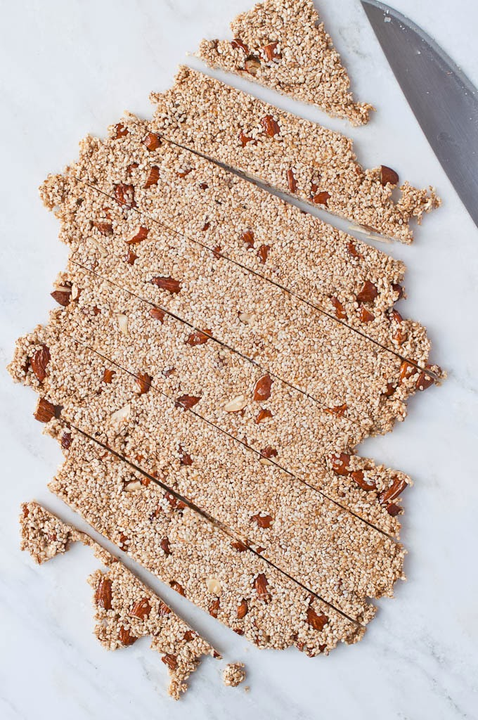 Edible gift ideas - Sesame Brittle