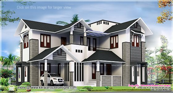2329 sq-ft home design