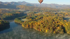 See Beautiful Aerial Views of Asheville's Fall Colors