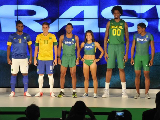 Brazil uniform for london olympic