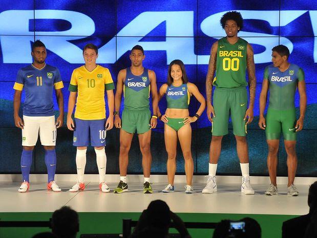 Brazil uniform for london olympic