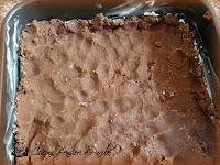 Barrette crumble al cacao con ripieno di cioccolato alle nocciole