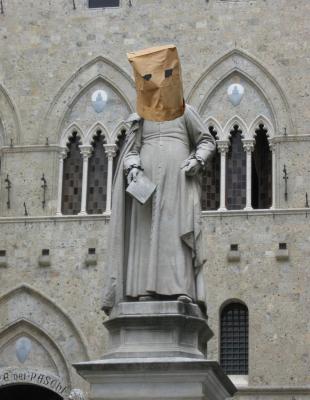 Piazza Salimbeni: Sallustio Bandini