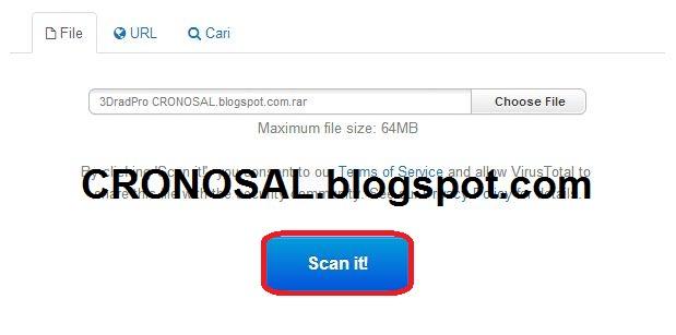 Cara Scan Virus Secara Online