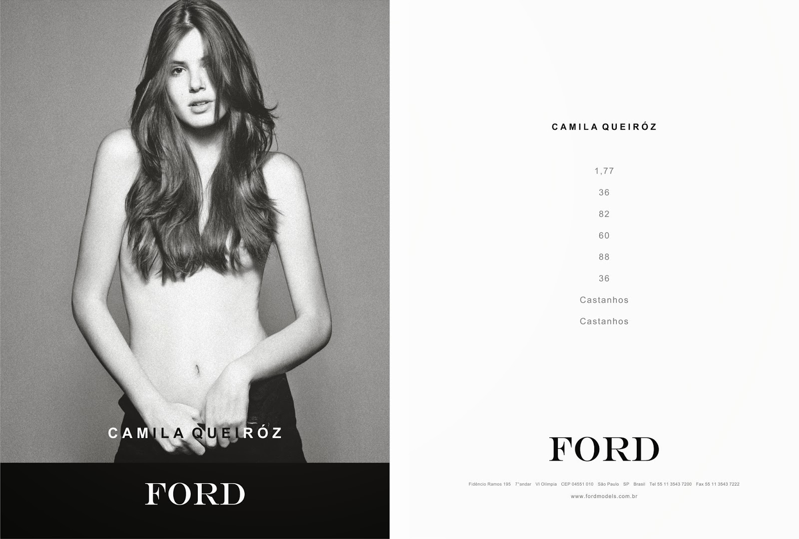 Showcard ford models brazil