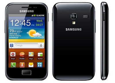 Samsung Galaxy Ace Plus announced, release date in Q1 2012
